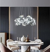 MQQ Modern Bubble Chandelier, LED Simple Dining