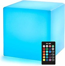 Mr.Go 20cm Led Mood Light Cube with Remote