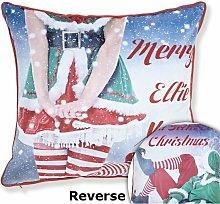 Mr & Mrs Elfie Cushion Cover 43 x 43cm Bed Sofa