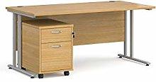 Mr Office Furniture Ltd Maestro 25 silver frame