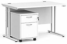 Mr Office Furniture Ltd Maestro 25 white frame