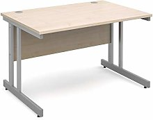 Mr Office Furniture Momento straight desk (Maple,
