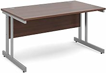 Mr Office Furniture Momento straight desk (Walnut,