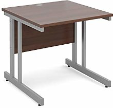 Mr Office Furniture Momento straight desk (Walnut,