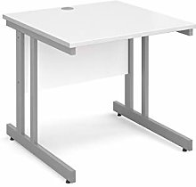 Mr Office Furniture Momento straight desk (White,