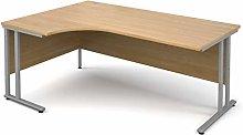 Mr Office Maestro 25 ergonomic desk - silver