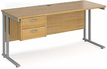 Mr Office Maestro 25 straight desk 600mm deep with