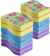 MR.SIGA Cellulose Scrub Sponge, Kitchen and Dish