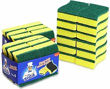 MR. SIGA Heavy Duty Scrub Sponge - Pack of 24,
