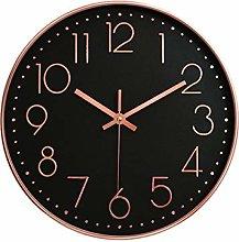 MRDS Clock Rose Gold Table Quartz Clock Office