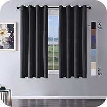 MRTREES Blackout Curtains Bedroom 66 Drop 2 Panels