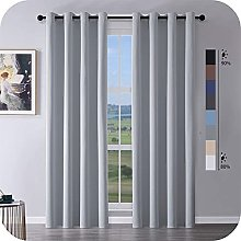 MRTREES Blackout Curtains Bedroom 88 Drop 2 Panels