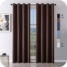MRTREES Blackout Curtains Bedroom 90 Drop 2 Panels