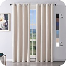 MRTREES Blackout Curtains Bedroom 96 Drop 2 Panels