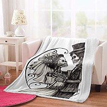 MSFDC dog blanket baby blanket Black and white