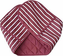 MSM Double Mitt Oven Gloves Stain Resistant 100%