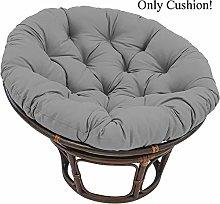 Papasan Chair Cushion Skin-Friendly Swing Hanging Basket Seat Cushion Floor Cushion Thicken Cotton Hanging Egg Hammock Chair Cushion Papasan Chair Pad Patio Pillow Round Chair Pad