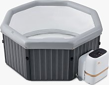 MSpa Tuscany Quick-Heating UV-Sanitised Hot Tub