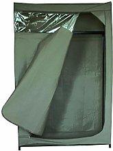 MSV Blue Wardrobe 116X50X178CM