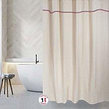 MSV Cotton Shower Curtain 180 x 200 cm Elegance