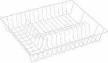MSV Dish Draining Basket Wire Dish Rack with