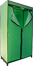MSV Green Wardrobe 90X46X160CM