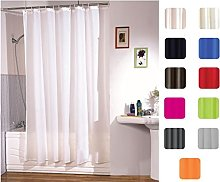 MSV Polyester Shower Curtain, Multi-Colour