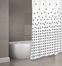 MSV Shower Curtain, Anthracite, Unique Size