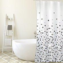 MSV Shower Curtain, Grey, Unique Size