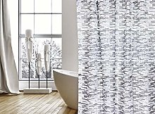 MSV Shower Curtain, Grey, Unique