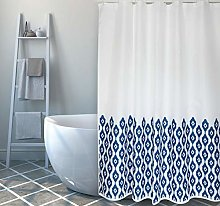 MSV Shower Curtain, Multi-Colour, Unique Size