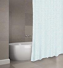 MSV Shower Curtain, Pastel Green, Unique Size