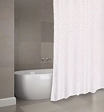 MSV Shower Curtain, Pastel Pink, Unique