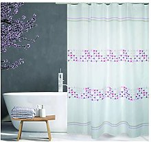 MSV Shower Curtain, Pink, Unique