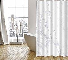 MSV Shower Curtain, White, 200 x 180 cm
