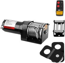 MSW Electric Winch - 1.590 kg - 3.500 lbs - Incl.