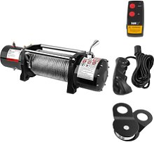 MSW Electric Winch - 4.310 kg - 9,500 lbs - Incl.