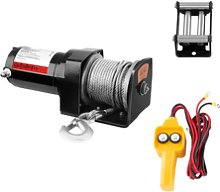 MSW Electric Winch - 907 kg - 2.000 lbs