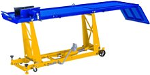 MSW Motorcycle Lift - 450 kg - 220 x 68 cm - Front