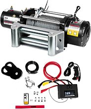 MSW Off-road rope winch - 9.500 lbs - 4,310 kg -