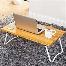 MTCGH Home Office Desk,Desk Laptop Lap Desk Bed