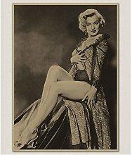 MTHONGYAO Poster Famous actress Monroe Vintage