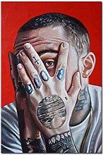 MTHONGYAO Poster Mac Miller Rap Singer Music Star