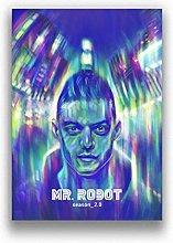 MTHONGYAO Poster Mr.Robot Tv Show Art Home Decor