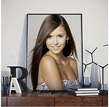 MTHONGYAO Poster Nina Dobrev Movie Star Beauty