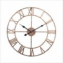 Mtisrx Silent Vintage Roman Numerals Wall Clock