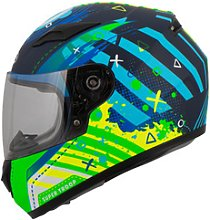 MTR S-12 Kids Kids Full-Face Helmet green M