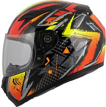 MTR S-12 Kids Kids Full-Face Helmet orange M