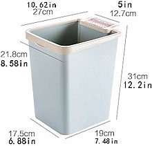 MTYLX Kitchen Trash Can,Rectangle Small Trash Can