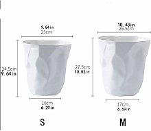 MTYLX Kitchen Trash Can,Round Small Trash Can
